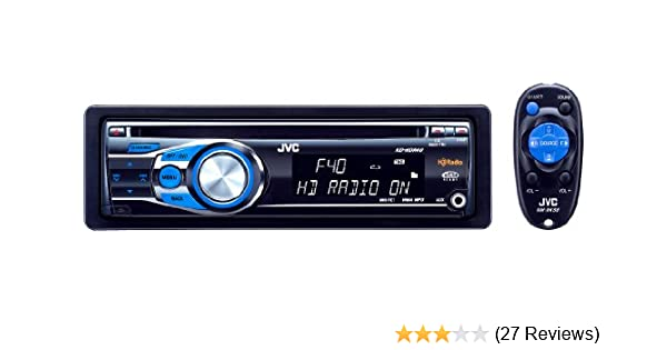 Amazon.com: JVC KD-HDR40 CD Receiver with Built-In HD Radio ... on