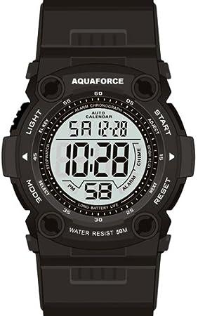 Combate táctico Aquaforce Digital reloj - 50 m resistente al agua: Amazon.es: Deportes y aire libre