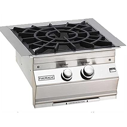 Amazon.com : Fire Magic Natural Gas Built-in Power Burner With ...