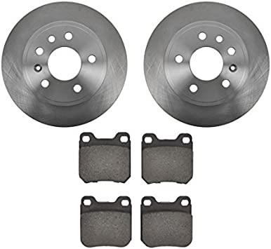 2001 2002 2003 Saturn LW200 OE Replacement Rotors w//Metallic Pads F
