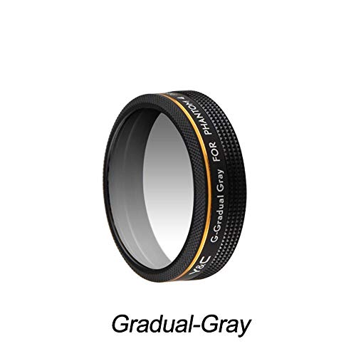 DJI Phantom 4 PRO 4A Lens Filters Gradual Red Blue Orange Gray Filter for DJI Phantom 4 PRO Advanced Drone Camera Lens Parts(Gradual Gray)