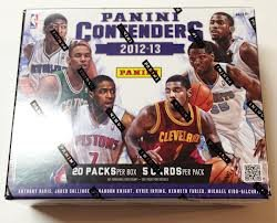 NBA 2012/13 Panini Contenders Basketball Trading Cards by Panini