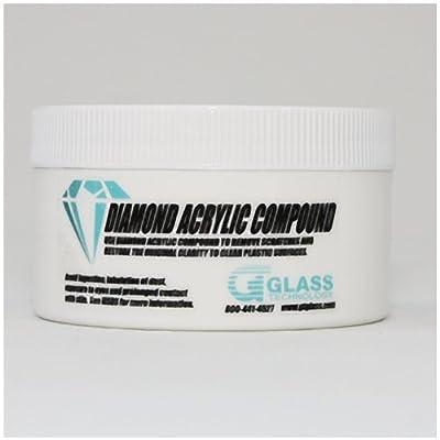 Diamond Clear Acrylic Polishing Compound - 1lb
