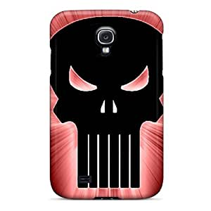 Premium Protection Punisher Skull Case Cover For Galaxy S4- Retail Packaging
