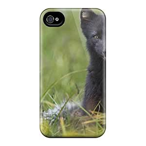 For Iphone Cases, High Quality Black Fox For Iphone 6 Covers Cases