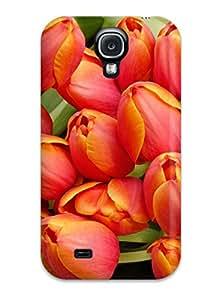 New ZippyDoritEduard Super Strong Tulip Flowers Arrangement Tpu Case Cover For Galaxy S4