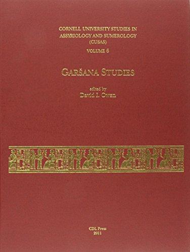 CUSAS 06: Garšana Studies by CDL Press