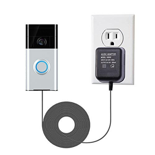 LANMU Power Adapter for Ring Video Doorbell,Power Supply for Ring Video Doorbell 2 and Ring Video Doorbell Pro