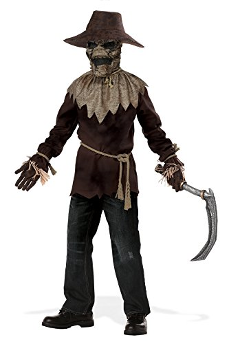 Scary Raven Halloween Costumes - California Costumes Wicked Scarecrow Costume, Large,