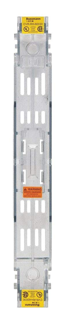 Fuse Block Cover, Nonindicating, 0.5 to 30 Amperage Range, 600VAC Voltage Rating