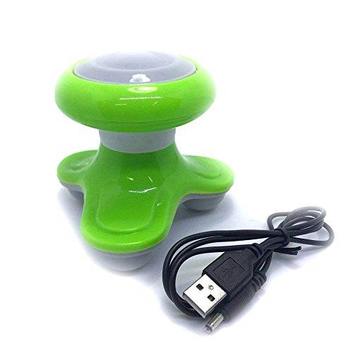 FURURU mini Electrical vibration Body massager with USB power cable (random color) by FURURU