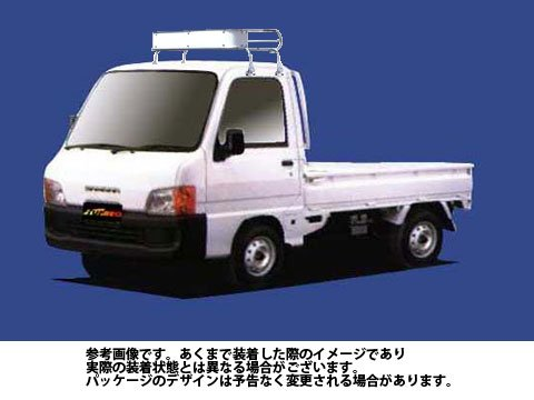 ルーフキャリア CL228A サンバートラック / TT1 TT2 / Cシリーズ トラック スチール タフレック TUFREQ 精興工業 B06Y12L9D7 Parent