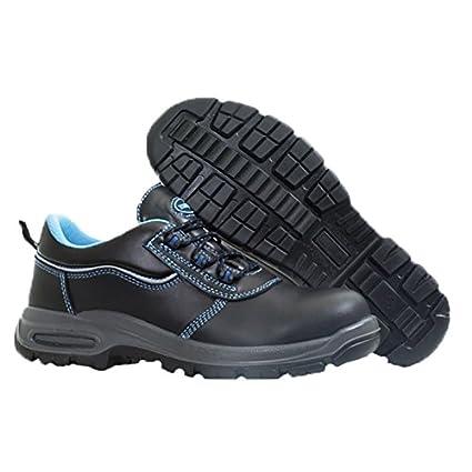 Paredes SP5020 ne36 grafito – Zapatos de seguridad S3 talla 36 NEGRO/AZUL