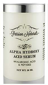 Passion Naturals Alpha Hydroxy Acid Serum, 30ml