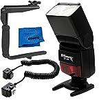 ULTIMAXX Universal TTL Flash for Nikon D3000, D5000, D5100, D5200, D40, D40X, D50, D60, D600, D610, D70, D70s, D80, D90, D7000, D700, D750, D800, D800E, D810, D810A Digital Cameras