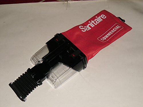 Sanitaire Eureka Upright Vacuum Dirt Cup with Cloth Bag Assembly Part # 60122-2 ()
