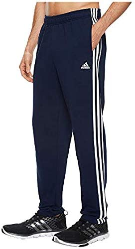 [adidas(アディダス)] メンズウェア・ジャケット等 Essentials 3S Tapered Fleece Pants Collegiate Navy/White US MD (M) 31 [並行輸入品]
