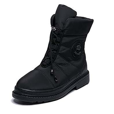 Amazon.com | Warm Fur Snow Boots Women Plush Insole