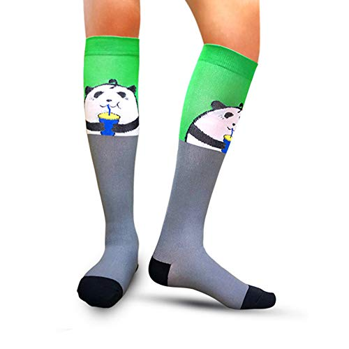 Compression Socks for Women & Men(1/7/8 PACK) - Best for Running, Athletic Sport, Pregnant, Nurse, Travel, Cycling-20-30mmHg - Little Miss Match
