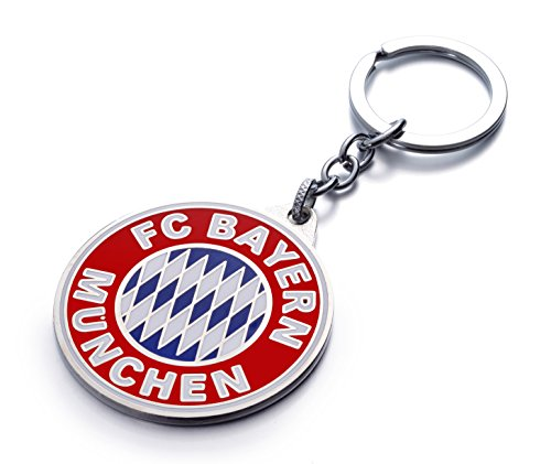 FC Bayern Munich Football Club Soccer Team Logo Metal Pendant Keychain US Seller