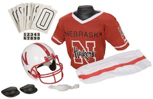Franklin NCAA Medium Nebraska Cornhuskers Deluxe Uniform -