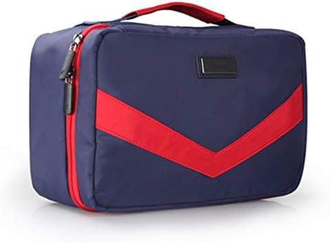 旅行化粧バッグ バッグ大容量ポータブルウォッシュ機能バッグを仕上げウォッシュバッグレジャー旅行収納袋出張下着 アクセサリー用コスメバッグ (色 : B, Size : 24x11.5x16cm)