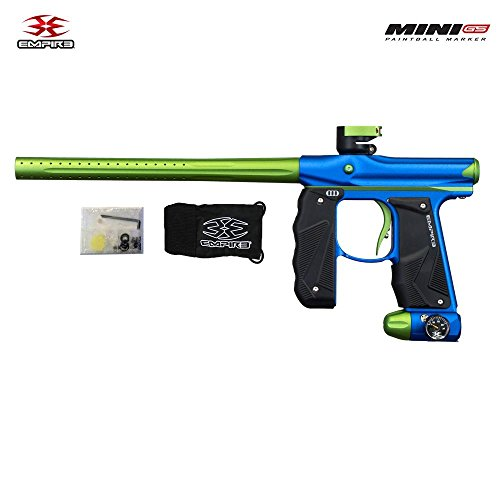 Empire Mini GS Paintball Gun - Dust Blue/Dust Green ()