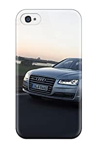 09KCMQYB5ZEVTW2L Ultra Slim Fit Hard Case Cover Specially Made For Iphone 4/4s- Audi A8 19