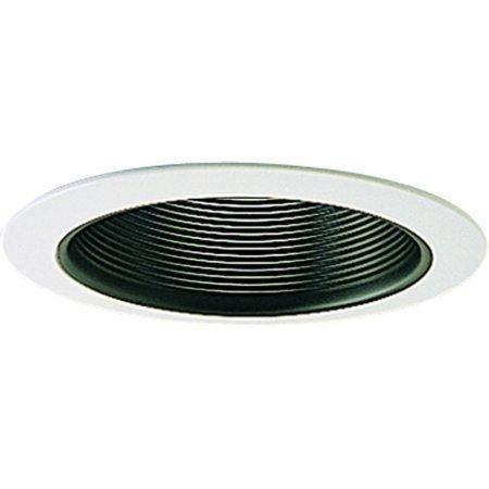 (Nora Lighting NL-411P Adjustable Stepped Baffle Recessed)