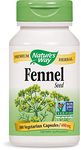 Nature's Way Fennel Seed 480 Mg, 100 Vcaps, 100 Count