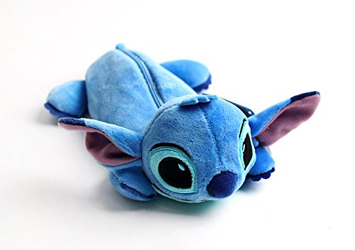 Disney [Stitch] Pen Pencil Case Zipper Pouch Multi Bag_Soft & Cute Toy Pouch by Seyoung BC23152