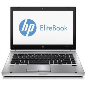 HP Elitebook 8470p 14 Inch Laptop, Intel Core i5 3320M 2.6G, 8G DDR3,240G SSD,DVD,Windows 10 Pro (Certified Refurbishedd)