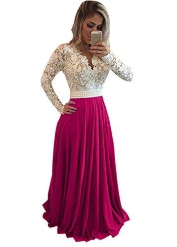 Fuschia Homecoming Dresses - 8