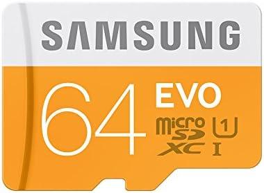 carte sd 64 go samsung Amazon.com: Samsung Memory 64GB Evo MicroSDXC UHS I Grade 1 Class