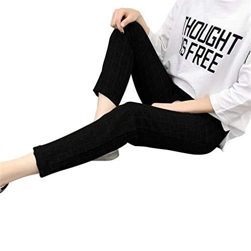 Femme Grande Loose Sarouel Longueur 8 Poche Pantalon 7 Hibote A 3xl Taille La Harem Fit Sports S 2 Casual Élastiquée Avec Pour C4wndq