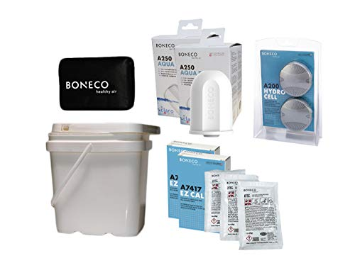 BONECO Ultrasonic Humidifier Accessories Kit w/Aqua PRO Filter