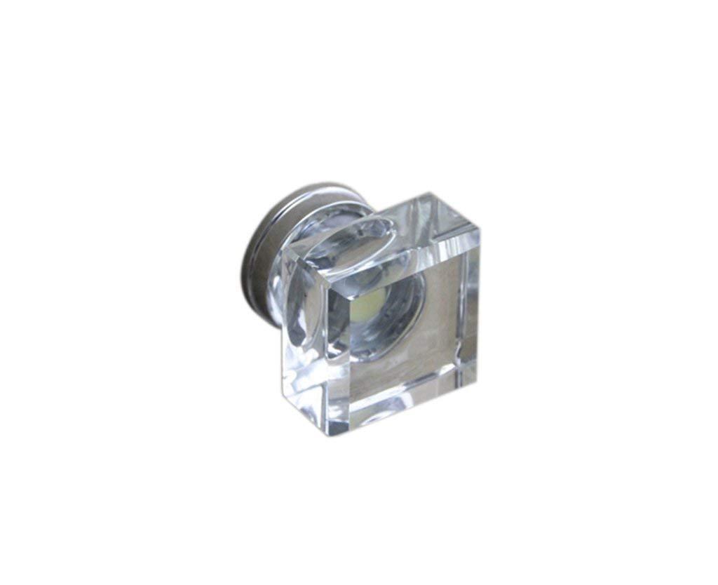 Ajhgqejfw Handle, K9 Crystal Handle European, Single Hole (Color : -, Size : -)