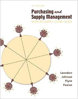 Book Purchasing Supply Management: With 50 Supply Chain Cases