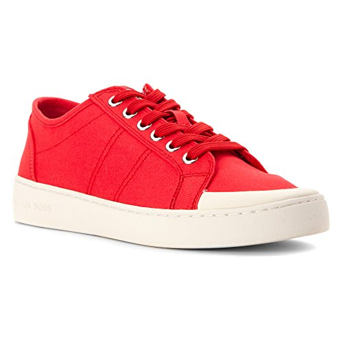 5c8b82989910 MICHAEL Michael Kors Women s Harlen Sneaker Coral Reef Twill Vachetta  Leather 9 M on sale