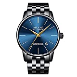 WhatsWatch AILANG Brand Ultra-Thin dial Fashion Simple Watches Luxury Men's Mechanical Sports Wrist Watch Leather Male Clock Montre Homme -481