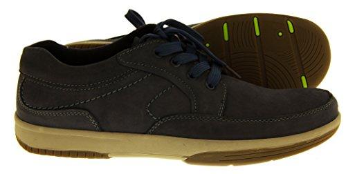 Footwear Studio - Náuticos para hombre azul marino