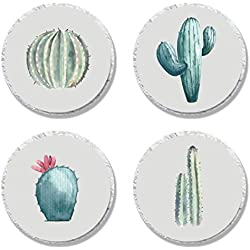 MAGJUCHE Prickly Cactus Candy Stickers, Fiesta Wedding Bridal Baby Shower Birthday Party Sticker Labels for Favors, Decorations, Fit Hershey's Kisses, 304 Count