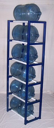 Delicieux ShaCo Racks 5 Gallon Water Bottle Storage Rack With 6 Bottle Capacity