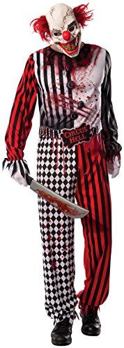 Rubie's Costume Co Men's Evil Clown Costume