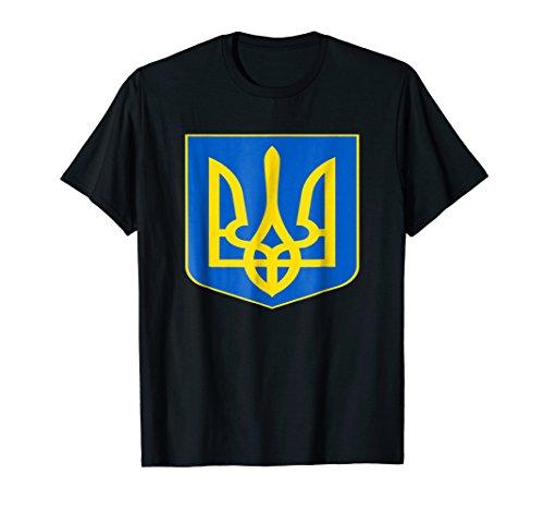 - Ukraine Coat Of Arms Ukrainian Emblem Symbol T-Shirt