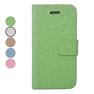 Buy Snakeskin Grain PU Leather Full Body Case for iPhone 4/4S(Assorted Colors) , Green