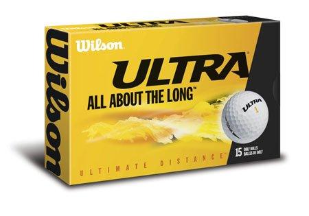 Wilson Golf Ultra Ultimate Distance 15 Ball Pack, Outdoor Stuffs