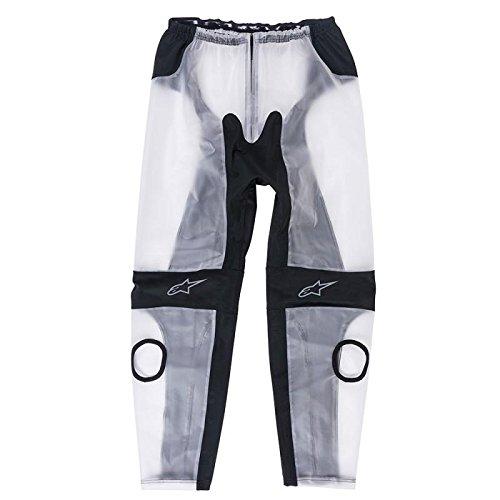 Alpinestars 3224917-01-S Racing Rain Pants (Clear/Black, Small)