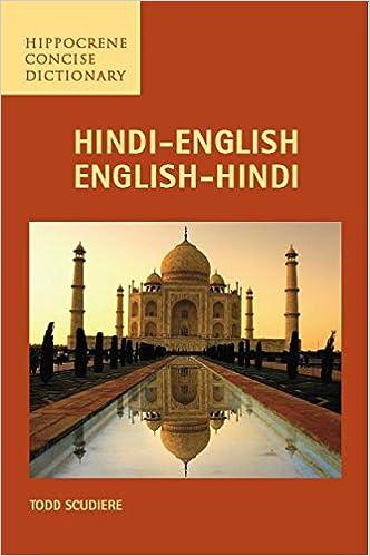 HindiEnglishEnglishHindi Concise Dictionary Hippocrene Concise - Hindi speakers in the world