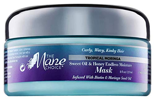 THE MANE CHOICE - Tropical Moringa Moisture Mask (8oz)